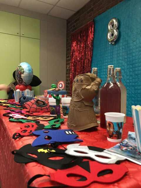 Salle d'anniversaire chez BLAST PANTIN